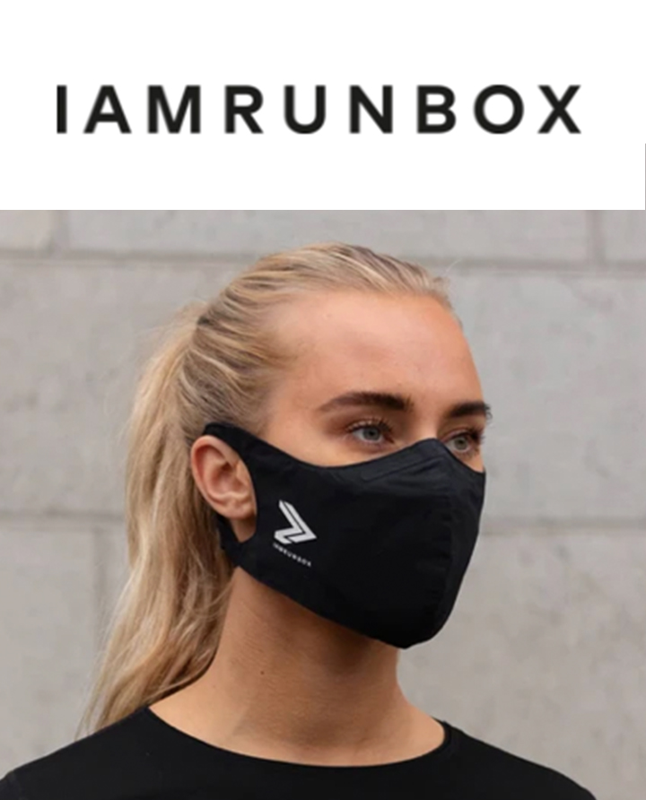 Face mask IAMRUNBOX