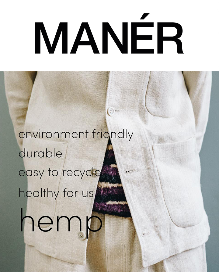 MANÉR Hemp Collection